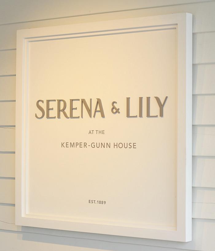 Serena & Lily Sign