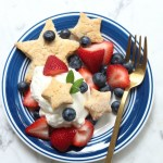 Star Biscuits and Berries