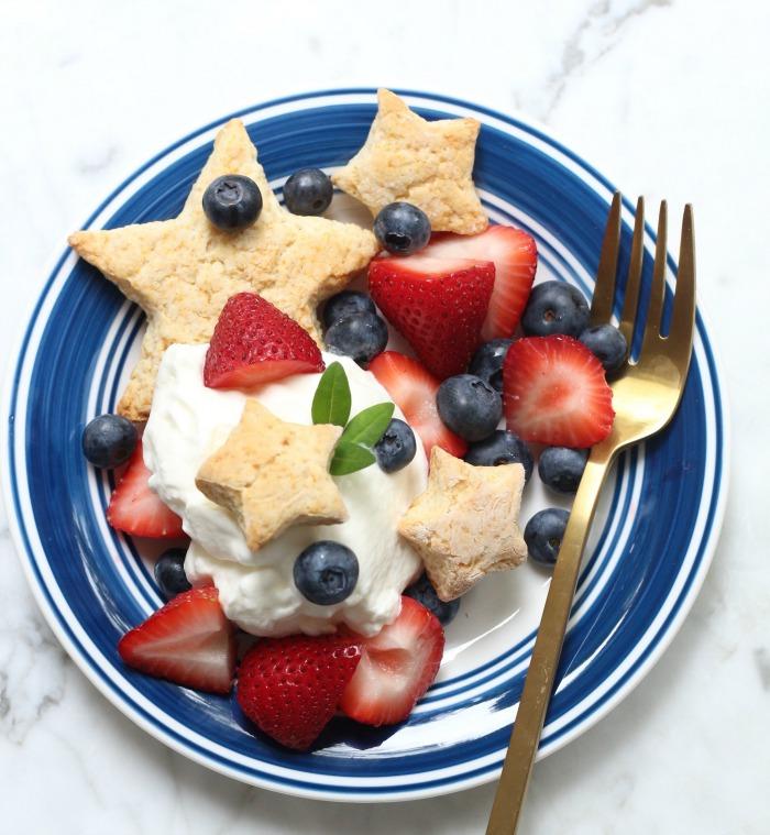 Berries and Biscuit Breakfast
