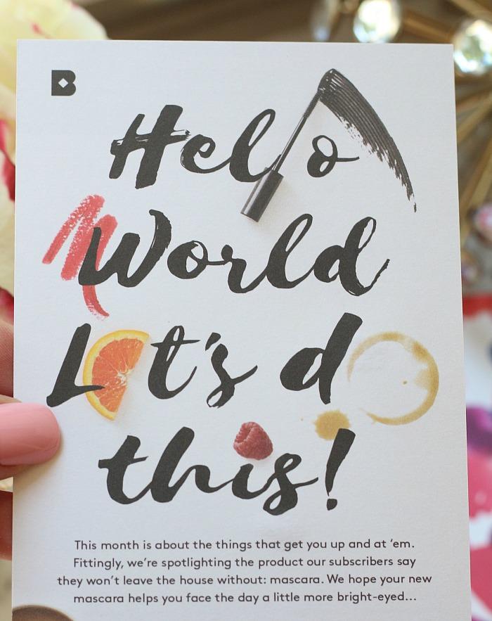 Birchbox Card