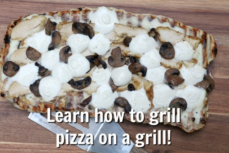 Learn how to grill pizza on a grill