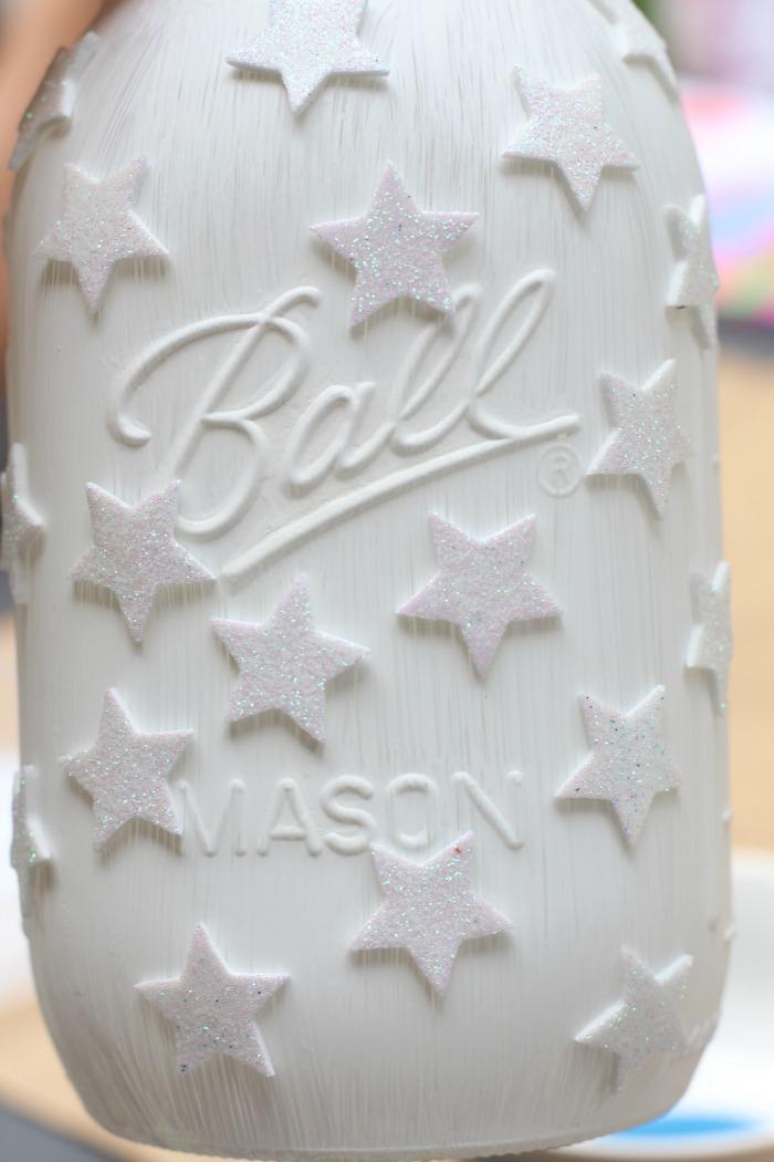 stars on jar