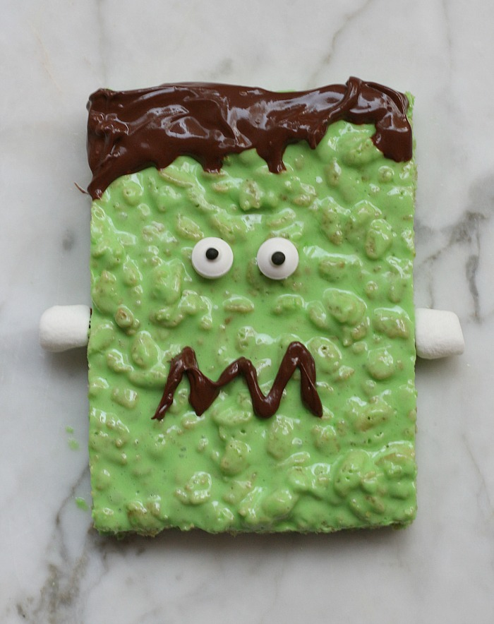 frankenstein-rice-krispie-treats