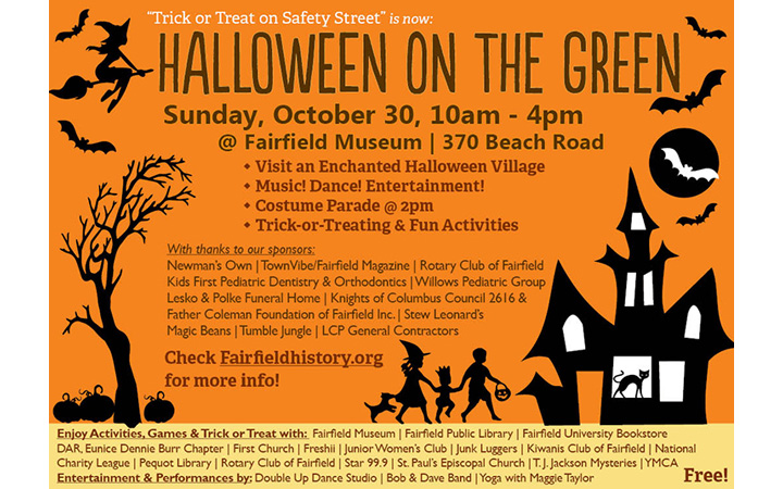 Family Event: Halloween on the Green!