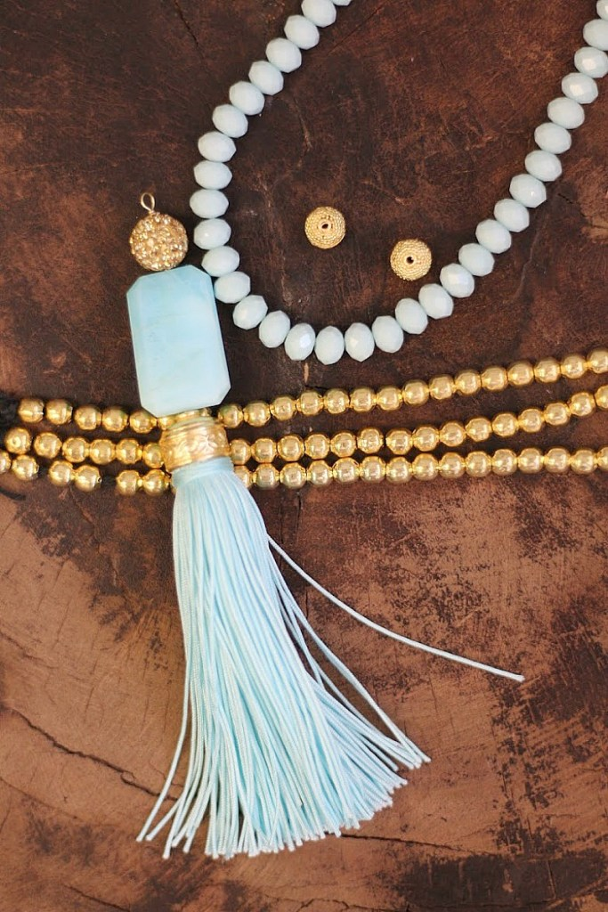 How to make a Silk Tassel Pendant