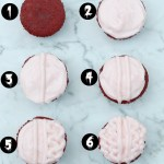 How to make brain cupcakes