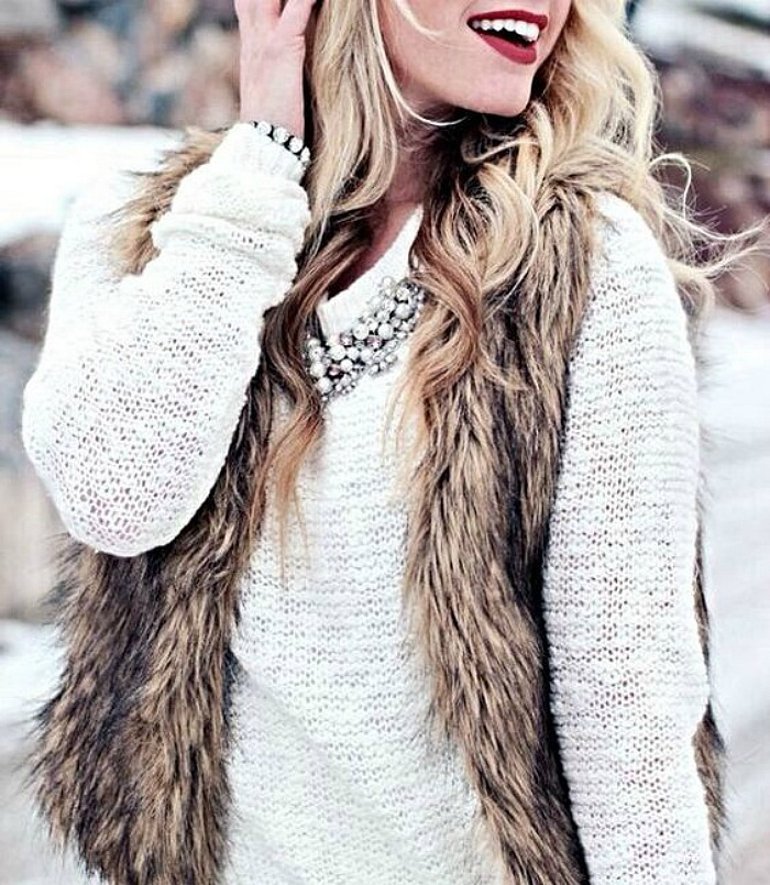fur-vest-with-glam-necklace