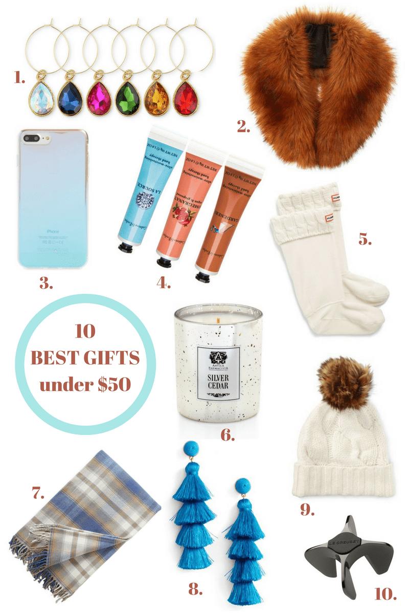 10 Best GIfts Under $50