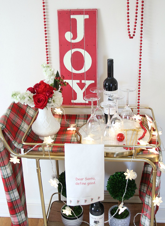 A JOYFUL Bar Cart
