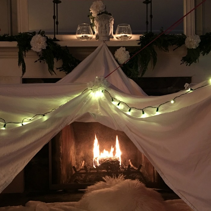 Cozy Christmas Fort