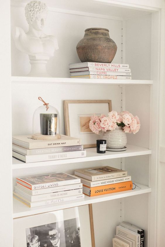 Shelf Styling and Decor