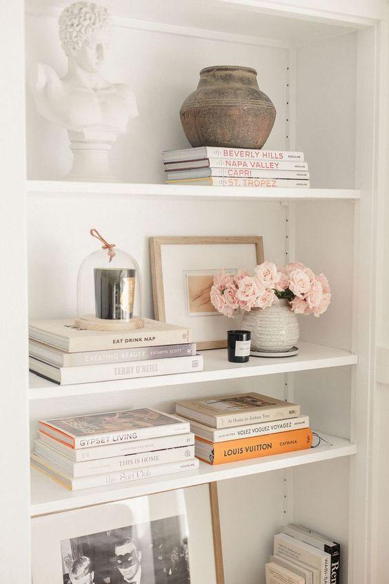 Shelf Styling and Decor