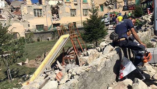 Zemes drebejimas Italijoje 2016-08-24 7