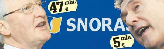Snoras 47mlm eurų