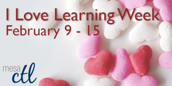 I Love Learning Week