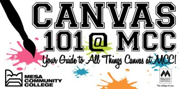 MCC Canvas 101