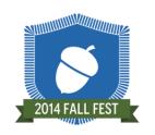 Fall 2014 Participation Digital Badge