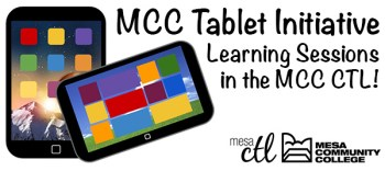 Faculty Tablet Initiative Learning Sessions