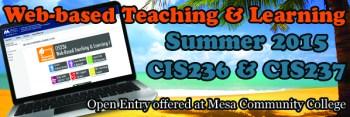 CIS236 & CIS237 Summer 2015