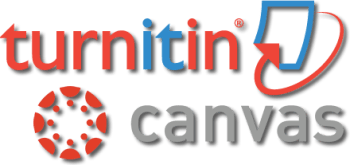 Canvas and Turnitin.com logo