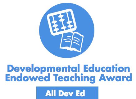Dev Ed Teaching Award