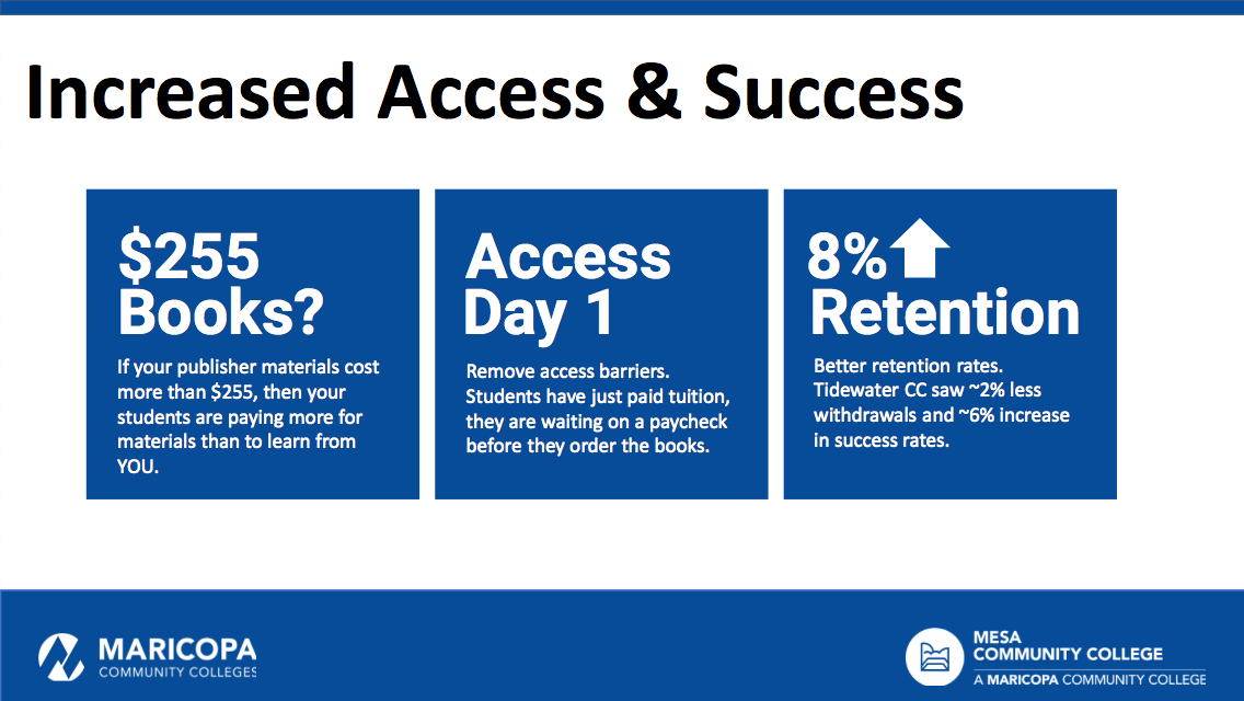 Increase Access to content