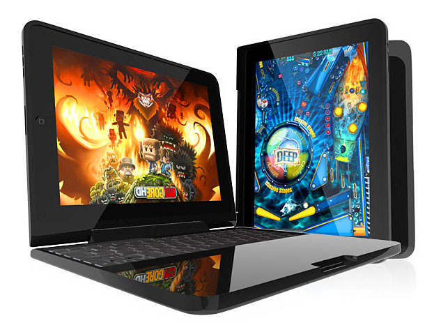 Image of two laptop computers