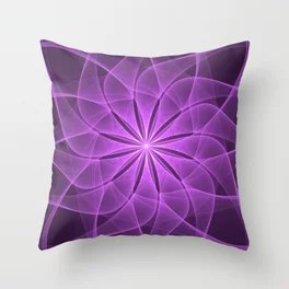 See the Star Mandala Throw Pillow