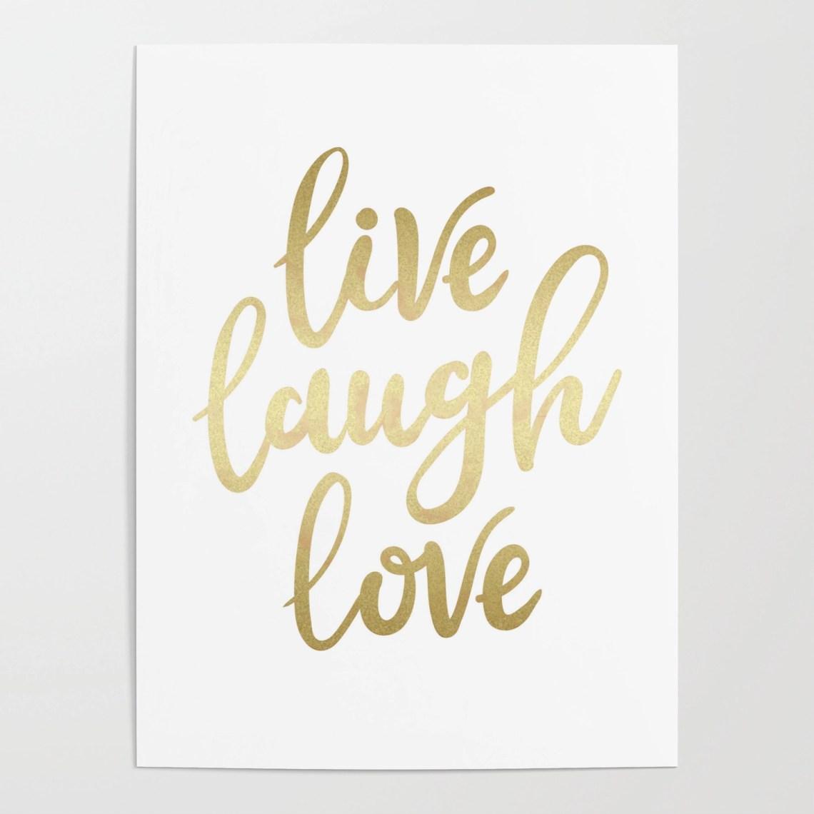 Download HD限定 Live Laugh Love Font - じゃバルが目