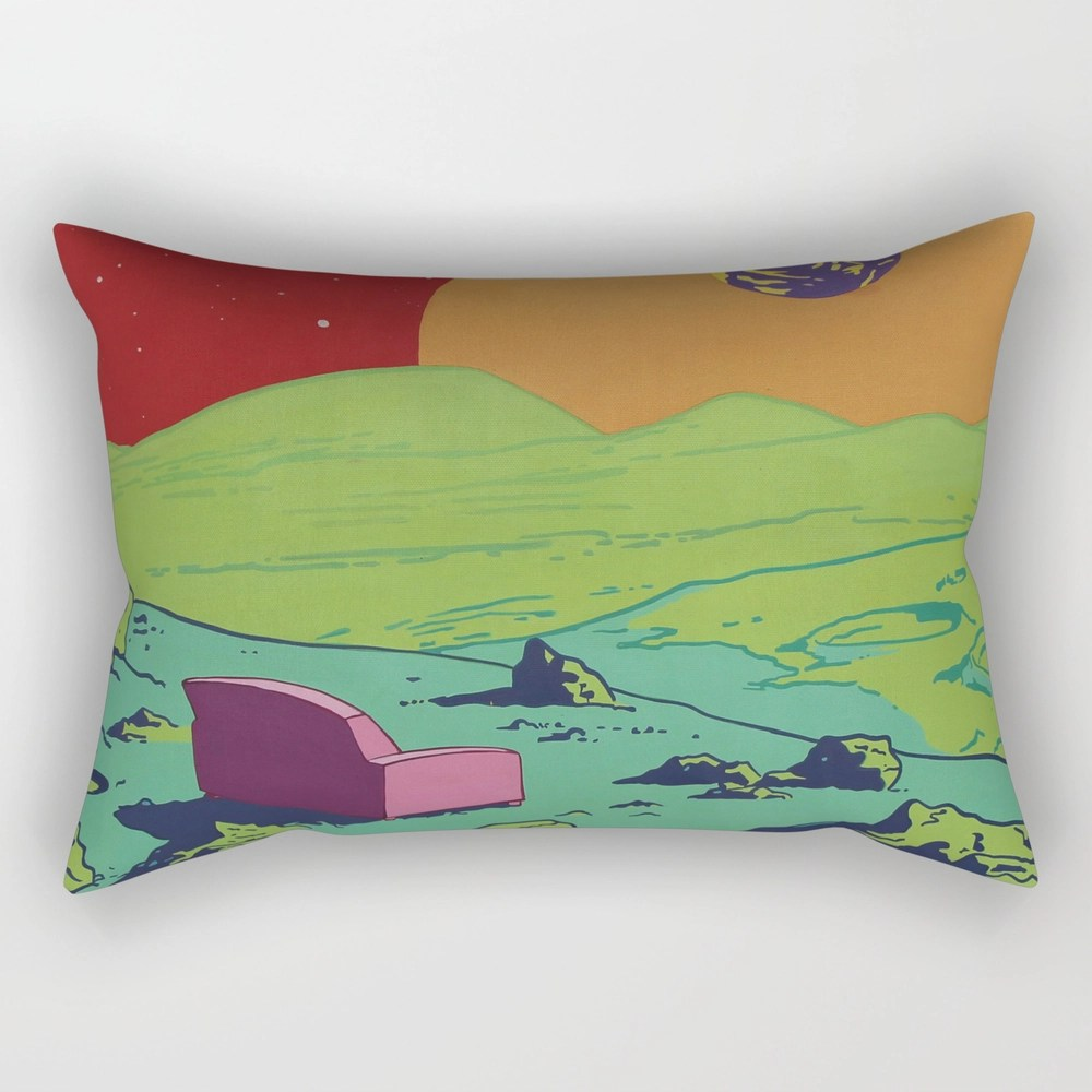 Couch Rectangular Pillow by em3ricadam