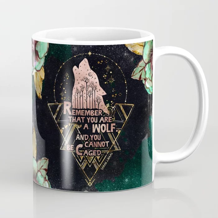 Wolf Caged Mug