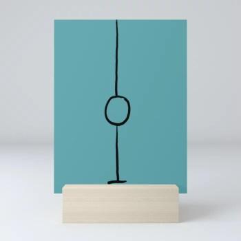 Open - Spoken by Elswyth - Femdom Hypnosis - Bespoke Sigil  Mini Art Print