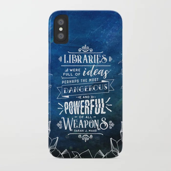 Libraries iPhone Case