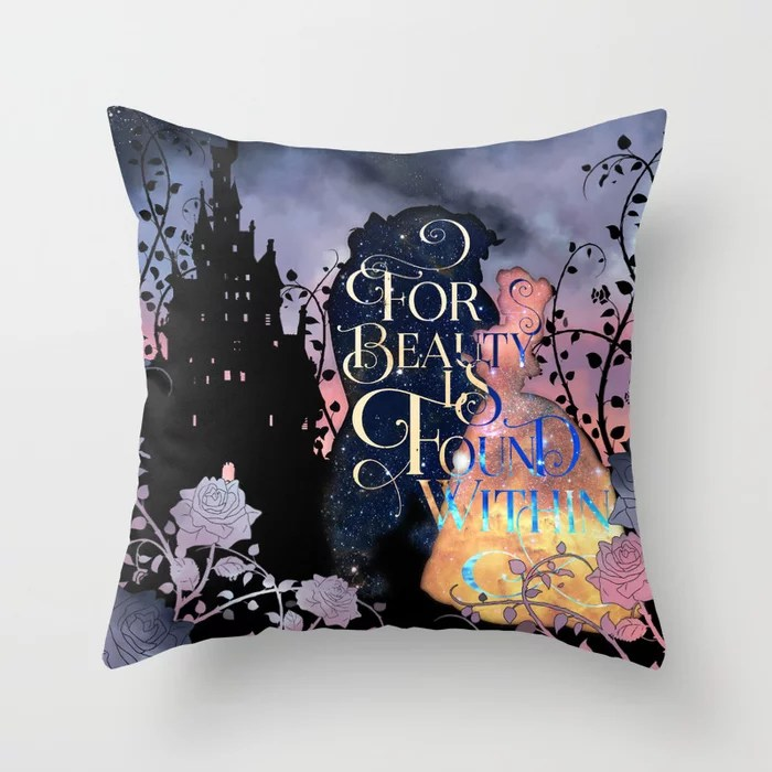 Beauty is Found Within Pillow