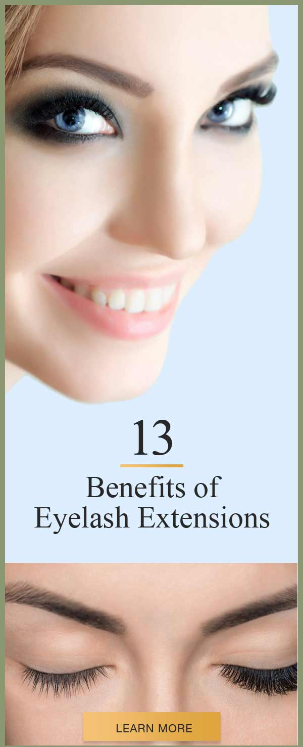 Benefits of Eyelash Extensions that Women Swear by ...