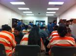 Ministry opportunities were made available with both male & female offenders