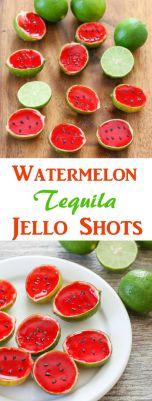 Watermelon Tequila Jello Shots