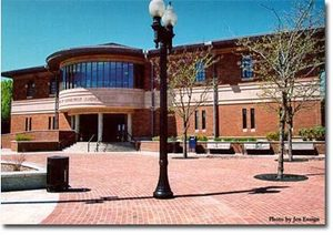 Photo of Meriden Superior Court courtesy of the Judicial Branch web site.