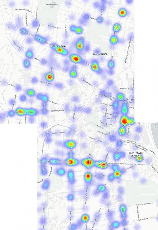 screengrab of Ilya Ilyankou's map