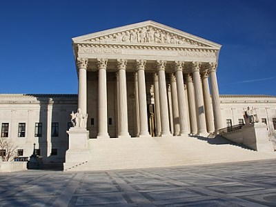 The U.S. Supreme Court which let stand the new Texas anti-abortion law