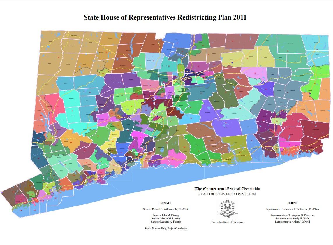 State House of Representatives Redistricting Plan 2011