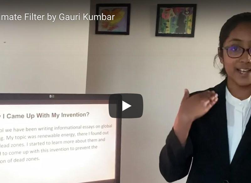 South Windsor inventor Gauri Kumbar