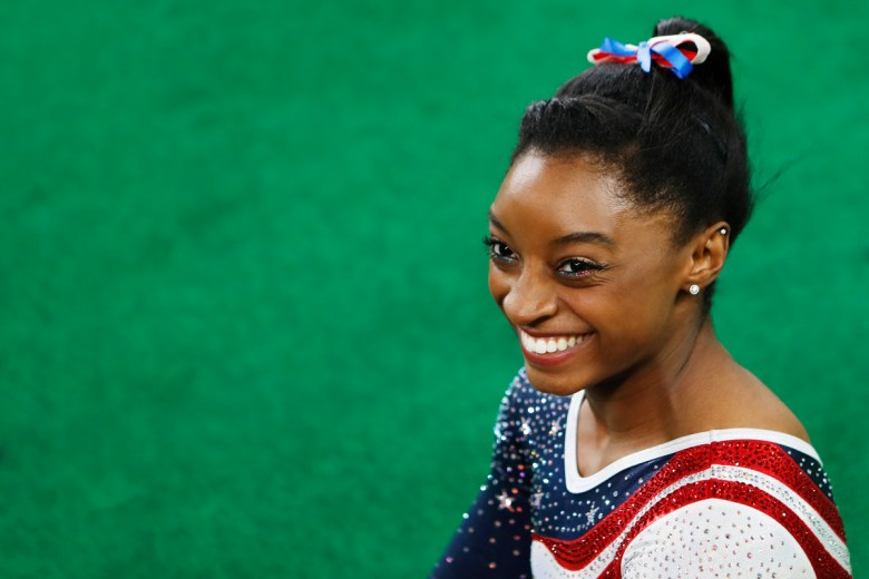 Simone Biles at the 2016 Olympic Games in Rio