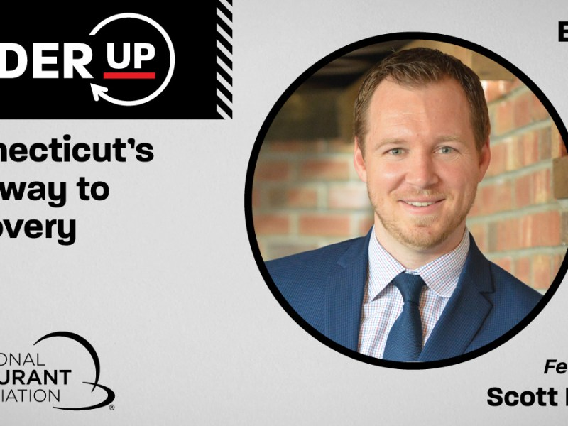 """Scott Dolch of the CT Restaurant Association is featured on the """"Order Up"""" podcast"""