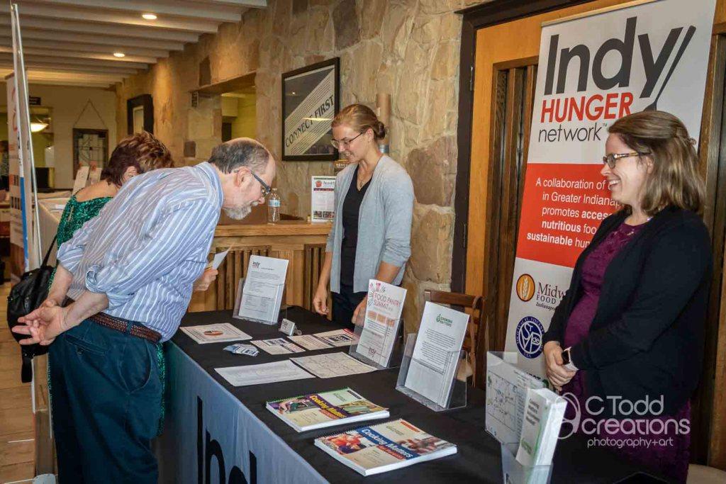 event image at non-profit event