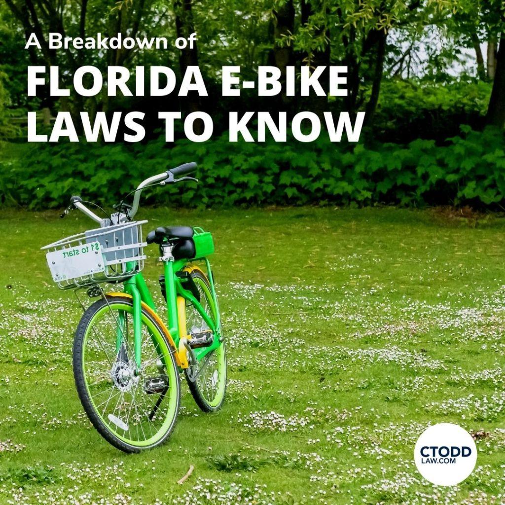 Florida Electric Bike Law