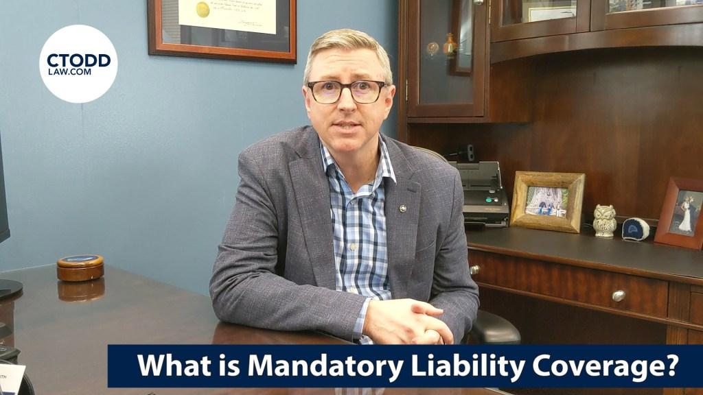 What is Florida Mandatory bodily injury, or BI Liability