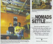 Nomads Settle Down
