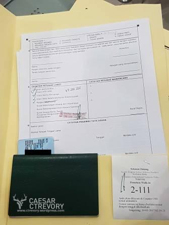 12. Kalau dokumen kalian lengkap, akan distamp dan baru dapat nomor antrian