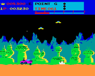 Screen of Moon Patrol